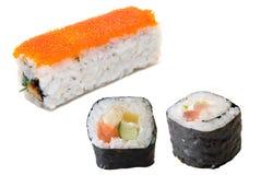 Ensemble de sushi Photos stock