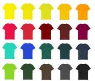 Ensemble de T-shirt Photos stock