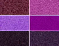 Ensemble de textures éclatantes multicolores Image libre de droits