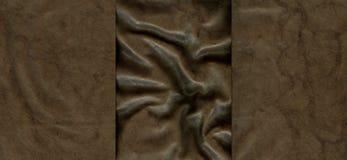 Ensemble de textures en cuir brunes Image stock