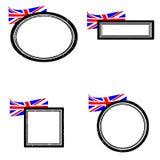 Ensemble de timbres Angleterre Photographie stock libre de droits