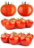 Ensemble de tomates rouges XXL Image stock