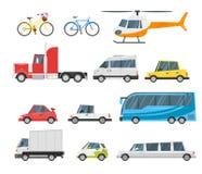 Ensemble de transport de ville Images stock