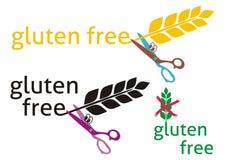 Le gluten libèrent illustration libre de droits