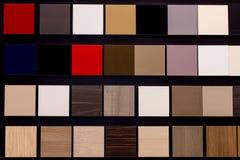 Ensemble de tuiles colorées Images stock