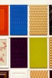 Ensemble de tuiles colorées Image stock