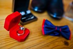 Ensemble de vêtements de marié Photo libre de droits