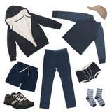 Ensemble de vêtements pour le garçon Image libre de droits