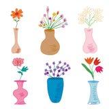 Ensemble de vases Image stock