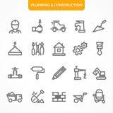 Ensemble de vecteur d'icônes Images stock