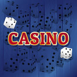 Ensemble de vecteur de casino Images libres de droits
