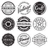 Ensemble de vecteur de labels de vintage illustration de vecteur