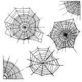 Ensemble différent de toile d'araignée Vecteur Image libre de droits