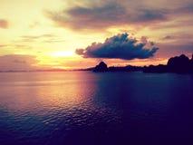 ensemble du soleil de nature Photo stock