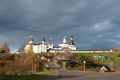 Ensemble of the Ferapontov Monastery Royalty Free Stock Photos