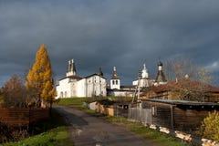 Ensemble of the Ferapontov Monastery Stock Image