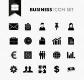 Ensemble frais d'icône de travail d'affaires. Images stock