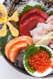 Ensemble frais de la meilleure qualité de bol de sashimi photo stock