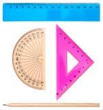 Ensemble géométrique Photographie stock