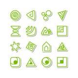 Ensemble - icônes diverses illustration stock