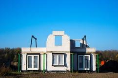 Ensemble immobilier privé image libre de droits