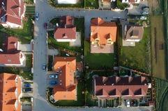 Ensemble immobilier privé Images stock