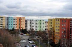 Ensemble immobilier privé Photos stock