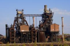 Ensemble industriel désuet photographie stock
