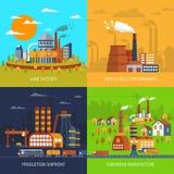 Ensemble industriel d'appartement d'usines et d'usines