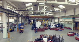 Ensemble industriel Vue d'usine 4K clips vidéos