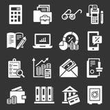 Ensemble international de comptabilité d'icône de jour, style simple illustration stock