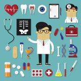 Ensemble médical Photographie stock