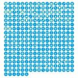Ensemble médical de vecteur d'icônes Photographie stock libre de droits
