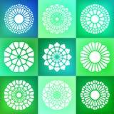 Ensemble neuf du vecteur Mandala Ornaments Illustration Photos stock