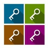 Ensemble principal d'icône de vecteur Photo libre de droits