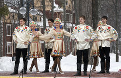 Ensemble Russian Style Stock Photography