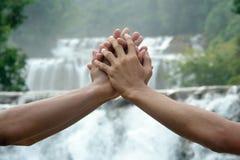 Ensemble sauf la terre Images libres de droits