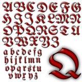 Ensemble spécial de conception d'alphabet d'ABC Photographie stock libre de droits