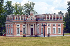 Ensemble Tsaritsyno  Eighteenth century  First Cavalry Corps  Management house  1782-1784  Architect Bazhenov Royalty Free Stock Image