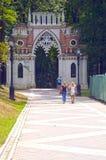 Ensemble Tsaritsyno  Eighteenth century  Grape save  Architect Bazhenov Royalty Free Stock Image