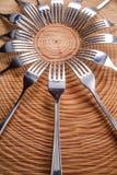 Ensembles de fourchettes Photo stock