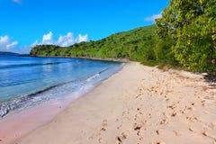 Ensenada British Virgin Islands de los contrabandistas fotos de archivo