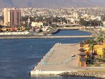 Ensenada Cruise Port stock photography