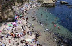 Ensenada de La Jolla de San Diego Foto de archivo
