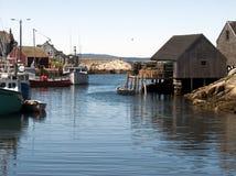 Ensenada de la pesca Fotos de archivo libres de regalías