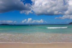 Ensenada de los contrabandistas en Tortola (BVI) Fotos de archivo libres de regalías