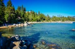 Ensenada del lago Tahoe Imágenes de archivo libres de regalías