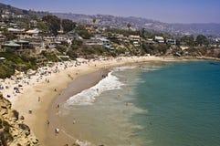 Ensenada en el Laguna Beach Fotos de archivo