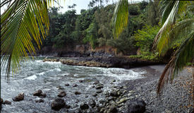 Ensenada Hawaii fotografía de archivo libre de regalías