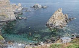 Ensenada natural en Galicia Imagen de archivo libre de regalías